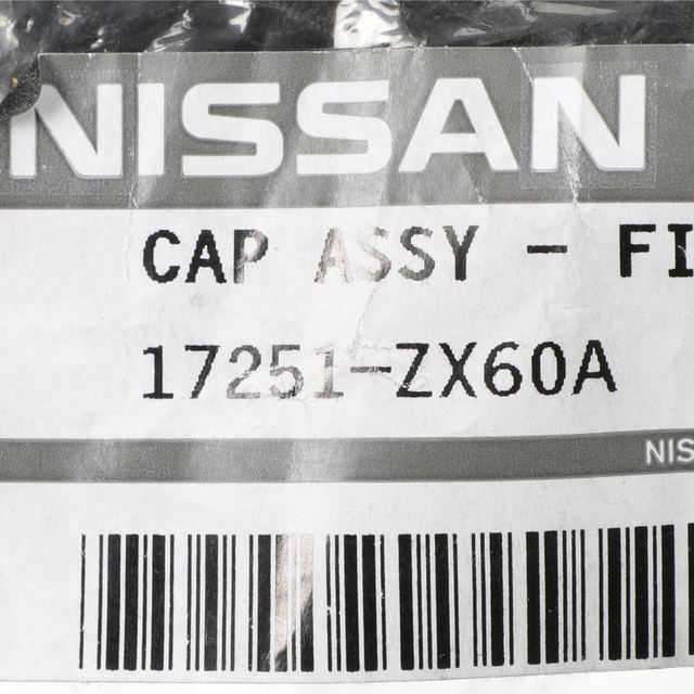 OEM Fuel Tank Cap for Nissan Altima Quest Murano 17251-ZX60A