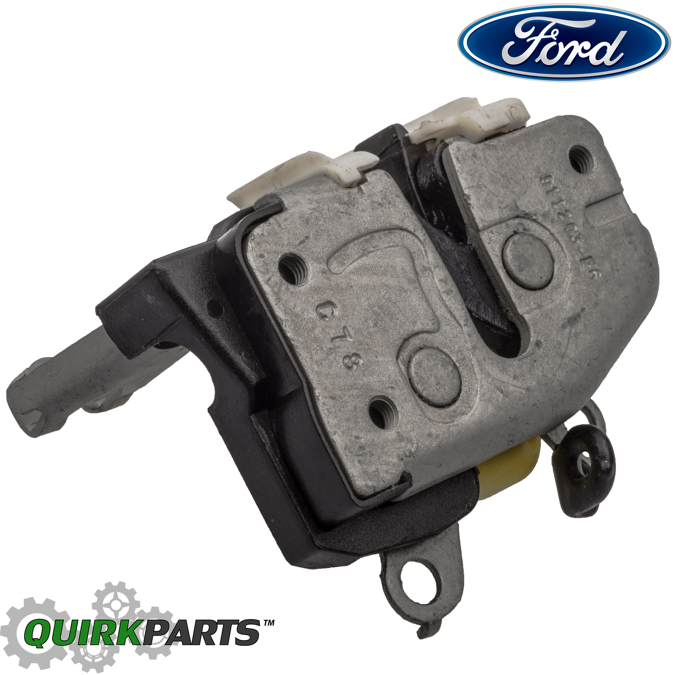 Ford f250 super duty f150 front left driver door latch for Door latch parts