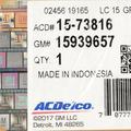 OEM NEW 08-15 GM Cadillac CTS Sedan Wagon HVAC Air Inlet Door Actuator 15939657 - GM (15939657)