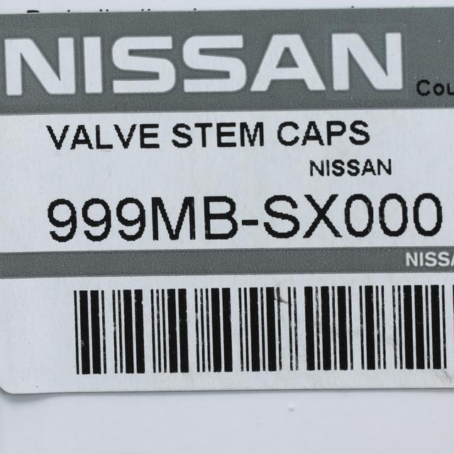 Nissan Titan Logo En Noir Sur Noir Aluminium Tire Valve Stem Caps