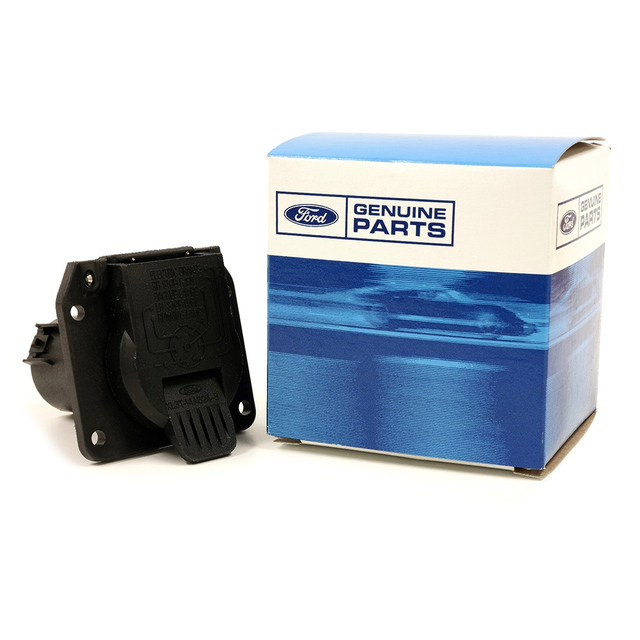 Ford F150 Explorer Lincoln 7 Pin Trailer Tow Wire Harness Connector ...