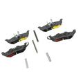 Rear Disc Brake Pad Kit - Mopar (5080871AB)