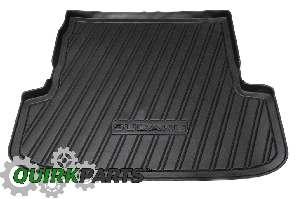 2005-2009 Subaru Legacy & Outback Wagon Rear Cargo Tray Mat Liner Black OEM NEW - Subaru (J501SAG050JD)