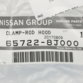 2002-2006 Nissan Altima Hood Prop Rod Retainer Clip Replacement GENUINE OEM NEW - Nissan (65722-8J000)