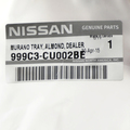 Nissan Murano Rubber Trunk Protector Liner Cargo Tray Mat OEM NEW - Nissan (999C3-CU002BE)