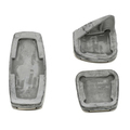 Sport Pedal Kit - Brake, Accelerator And Clutch Pedal Cover - GM (13301696)