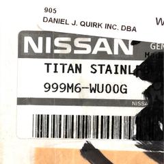 2009-2013 Nissan Titan Exhaust Tip BRAND NEW OEM Part # 999M6-WU00G - Nissan (999M6-WU00G)