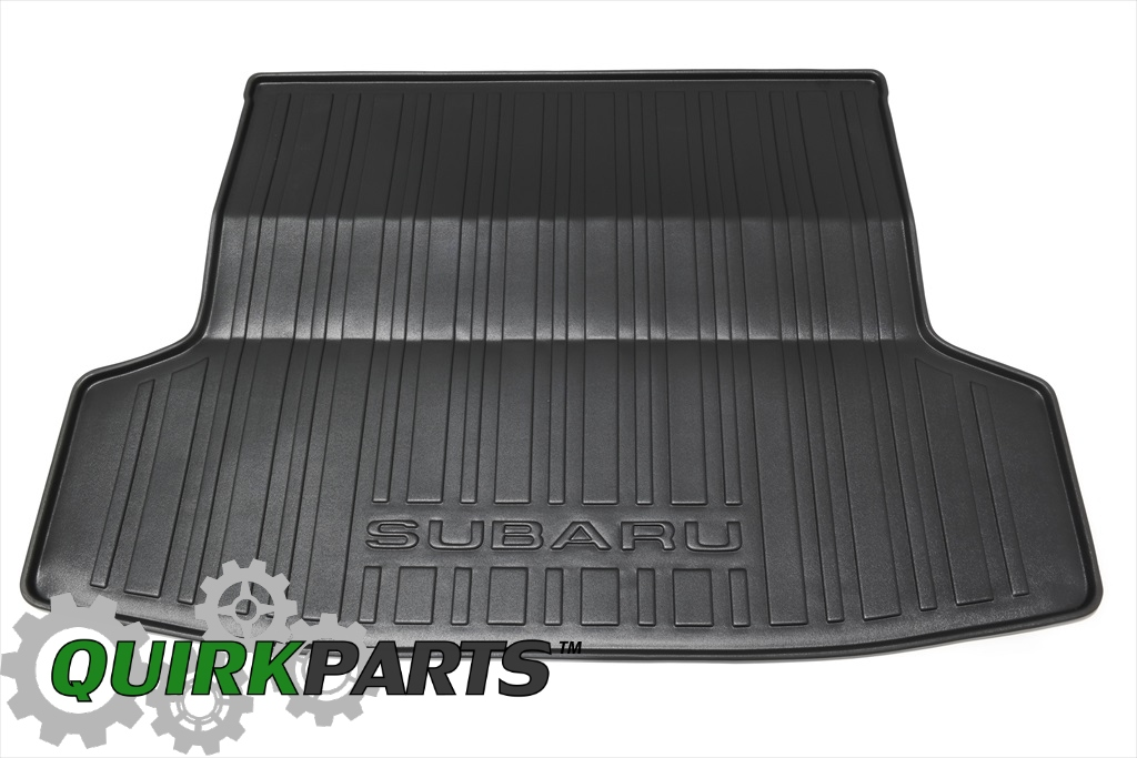 2008-2014 Subaru Impreza & WRX Cargo Tray / Mat Liner Off-Black OEM NEW - Subaru (J501SFG400)