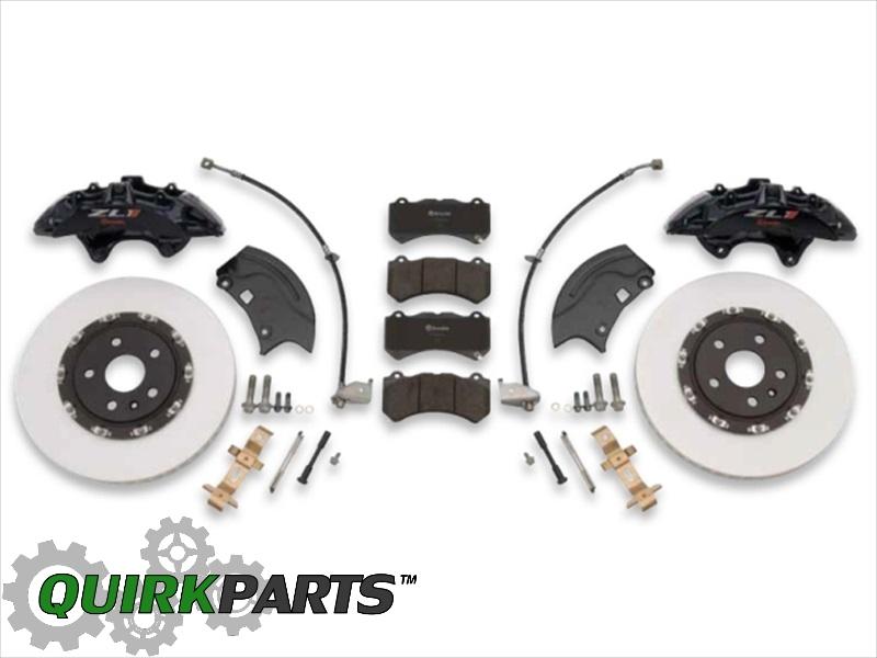 Gen 5 Camaro V-6 To ZL1 Brake Conversion Kit (Complete Front & Rear Kit) - GM (22989384)