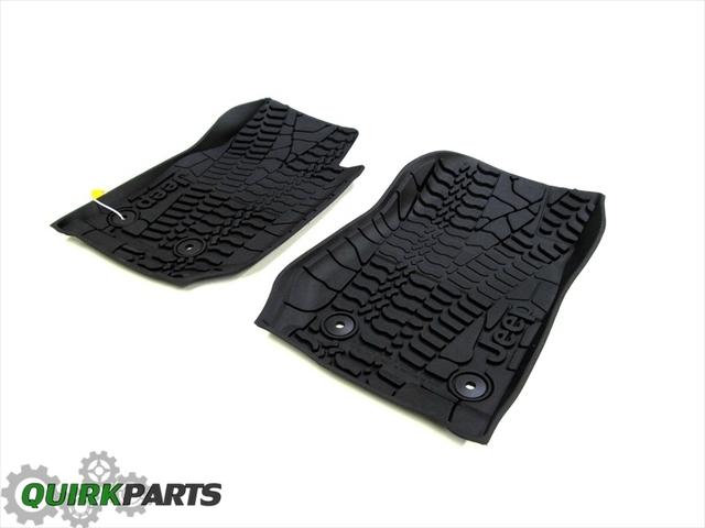 Mopar 82213861 Black All-Weather Floor Mat