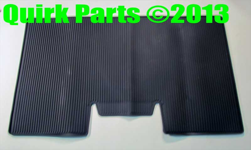 2009-2010 Ford F-150 All Weather BLACK Rubber Floor Mats 3 Piece Set OEM NEW - Ford (9L3Z-1613300-HA)