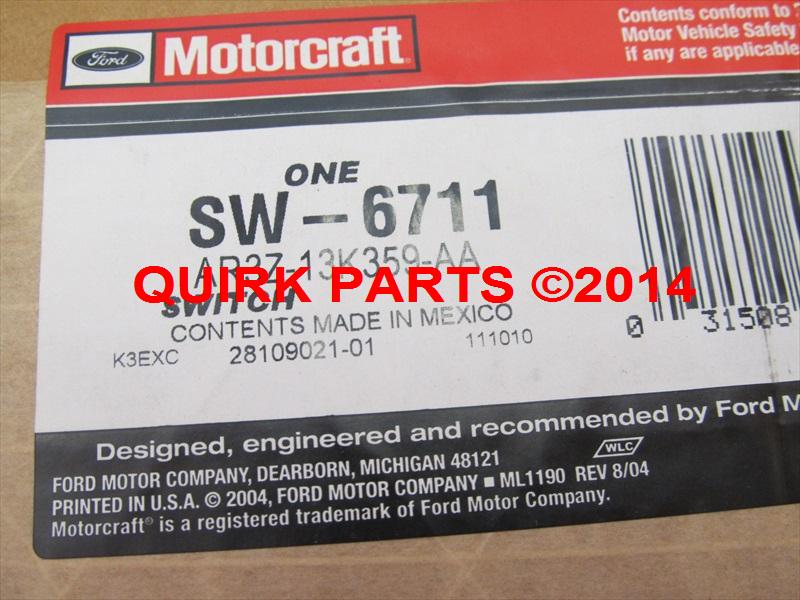 Motorcraft SW-6711 Turn Signal Switch