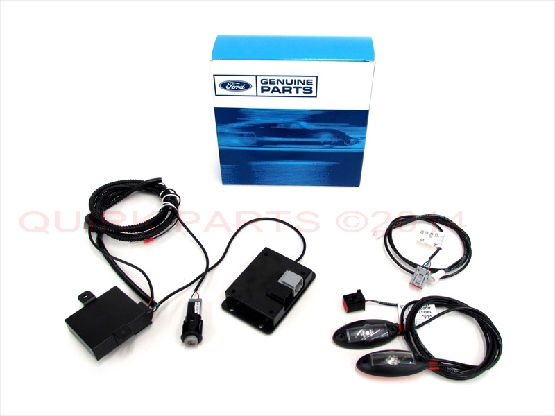Ford Mustang F150 Flex Interior Ambient Lighting LED Footwell Cupholder Kit OEM - Ford (CL8Z-13E700-AA)