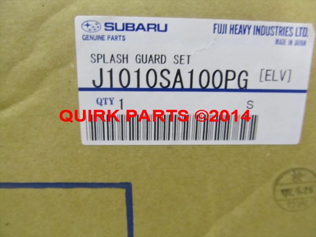 2006-2008 Subaru Forester Splash Guard Mud Flap World Rally Blue Pearl OEM  NEW
