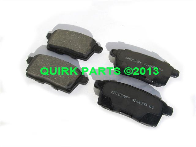 Brake Pads - Mazda (L2Y62648ZMV)