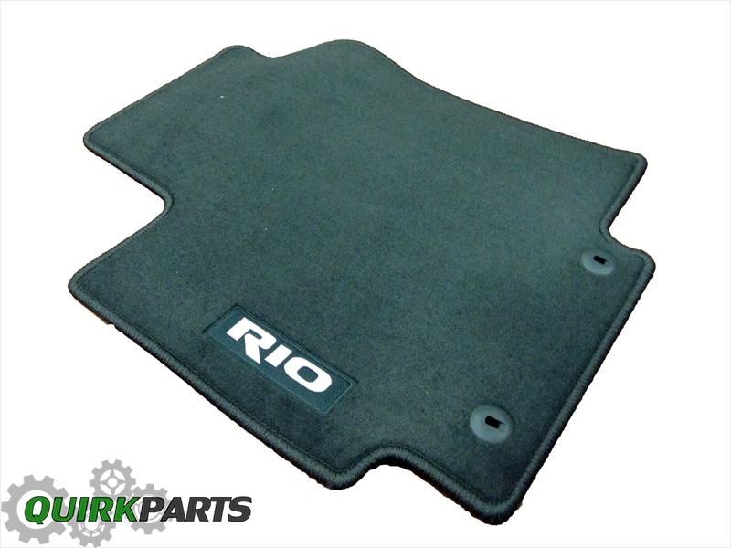 2013-2015 Kia Rio Carpet Floor Mats Genuine OEM NEW - Kia (1WF14-AC300HU)