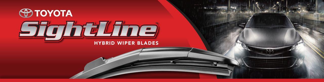 Windshield Wiper Blade (Left, Front) - Toyota (85212-YZZ1H-TM)