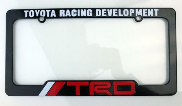 TRD License Plate Frame - Toyota (67894-00920)