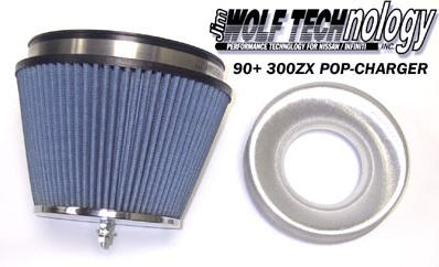 Jim Wolf Technology POP-Charger Air Filter - 1990-19996 300ZX (TT & NA) - NISMO (PZ320-1X0X4)