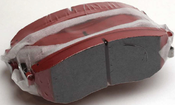 NISMO R-TUNE BRAKE PADS - REAR SET 350Z [2003-2008 WITH BREMBO] - NISMO (44060-HC206)