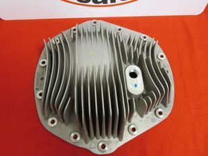 Dodge Ram 2500 3500 Silver AAM 11.5 REAR Finned Diff Cover 14 BOLT - Mopar (68149259AD)