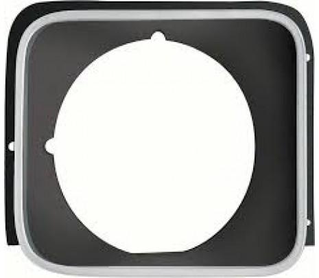1975-78 Nova RH Standard Headlamp Bezel (Silver) - Classic Muscle (360628)