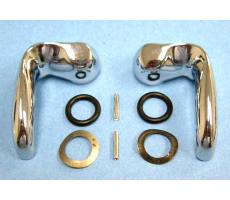 1964-1967 Vent Window Handle Set (exc. 66-67 SS) LH/RH - Classic Muscle (13389R)