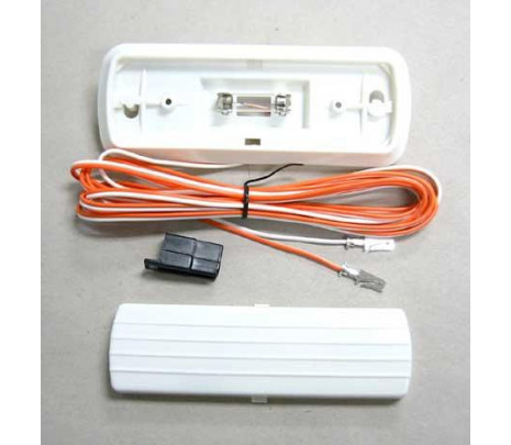 1960-1972 Lamp Assembly with Wiring (white) - Classic Muscle (1649R)