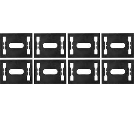 1972-1977 Camaro Door Panel Lower Retaining Clips [8 pcs] - Classic Muscle (748628)