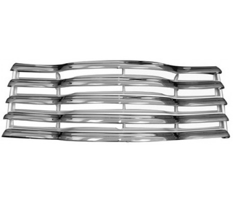 1947-1953 Chevrolet Pickup Truck Chrome/painted black grille assembly with rear bracket - Classic Muscle (846046)
