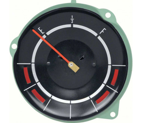 1965 Impala / Full Size Fuel Gauge With Temperature And Alternator Warning Lamps - Classic Muscle (6430118)