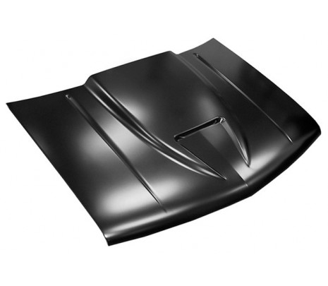 1988-98 Chevy Pickup Ram Air Style Hood (TRUCK FREIGHT) - Classic Muscle (0852-037)