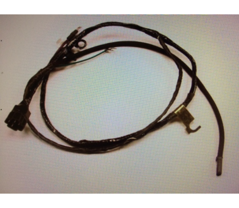 1963-1966 Engine Wiring Harness 6 cylinder with factory gauges - Classic Muscle (04110-MP)