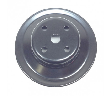 1969 Camaro Single Groove Water Pump Pulley (Correct Stamped)V8 (exc. A/C, 302 or 396/375) (correct) - Classic Muscle (3976059)
