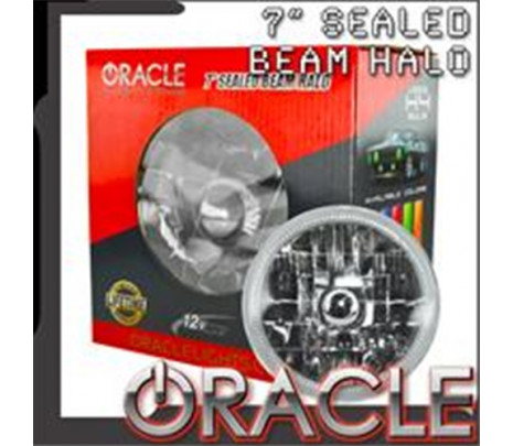 """1967-1981 Chevy ORACLE Pre-Installed 7"""" Sealed Beam Halo(BLUE) - Classic Muscle (RP5251)"""