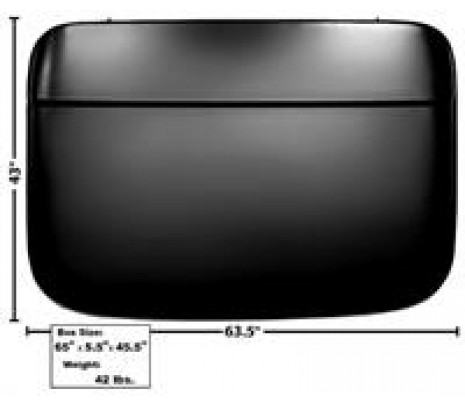 1960-66 C10 Roof Panel Skin (TRUCK FREIGHT) - Classic Muscle (1112104)