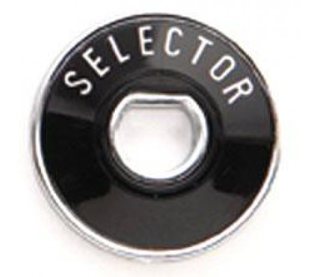 1955-1956 Selector Dial/Bezel with Chrome Back Plate MADE IN USA - Classic Muscle (1077-T)