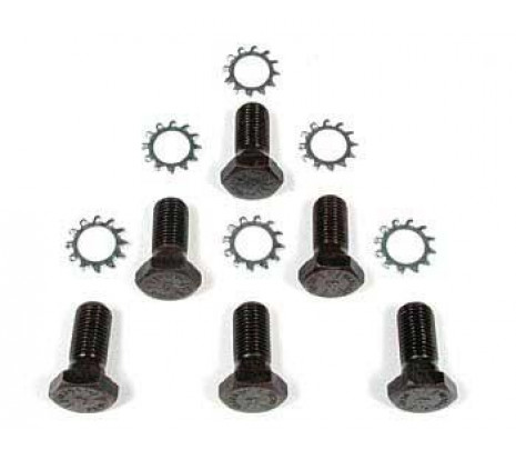 1955-1975 Bolt & Star Washer Kit - M/T (flywheel to crank) - Classic Muscle (34389K)