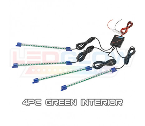 Green 4pc LED Interior Kit - Classic Muscle (RP6012)
