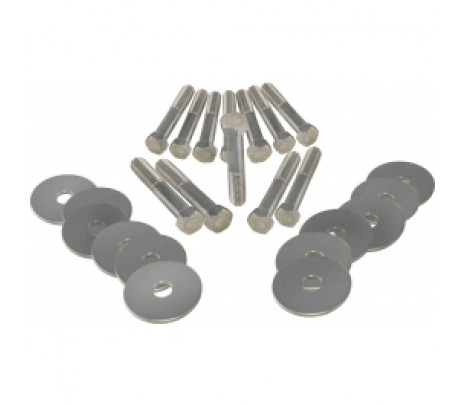 1966-1967 Chevelle Body Mount Bolt Kit Correct HT - Classic Muscle (270672)