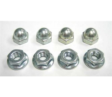 1967-1969 Camaro Spoiler Mounting Nut Kit (8 piece) - Classic Muscle (14789H)