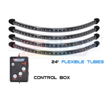 Blue Flexible LED Wheel Well Lights - Classic Muscle (RP6037)