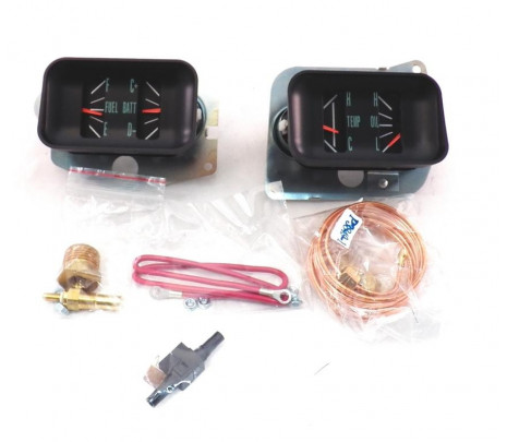 1966-67 Chevelle Gauge Conversion Kits w/voltmeter - Classic Muscle (S50591)