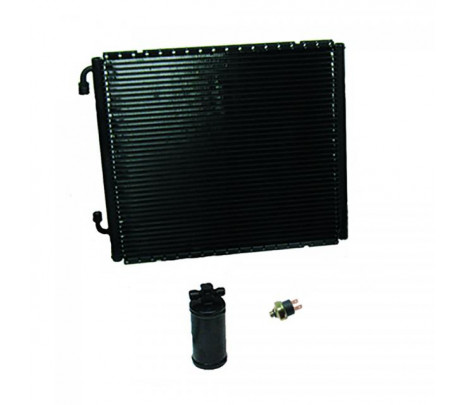 1955-56 Chevrolet Full-Size Gen IV SureFit™ Condenser Kit with Drier V8 Position - Classic Muscle (3257VCCA)