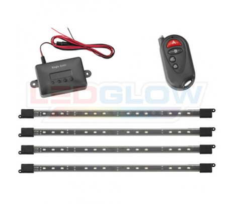 Green 4pc Expandable SMD LED Interior Kit - Classic Muscle (RP6018)
