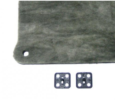 1980-81 Camaro Hood Insulation with Retainers (minor modification required) - Classic Muscle (14013451)
