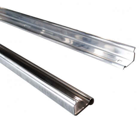 1947-1953 Stepside Short Bed Bed Angle Strips, Stainless Polished (pair) OVERSIZE ITEM - Classic Muscle (110109-M)