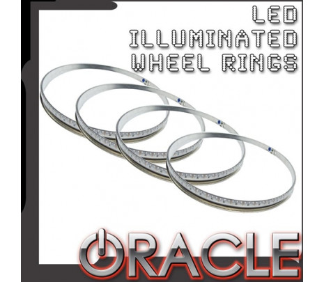 ORACLE Illuminated LED Wheel Rings RGB - Classic Muscle (RP5177)