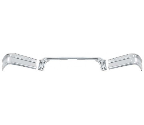 1958 Impala and Full Size 3 Piece Rear Bumper Set (OVERSIZE ITEM) - Classic Muscle (152612)