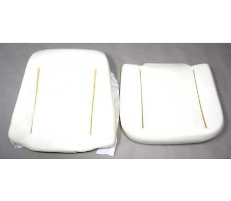 1966-1967 Chevelle/El Camino Bucket Seat Foam, Does 1 Seat, Made in USA (OVERSIZE ITEM) - Classic Muscle (117-AG)